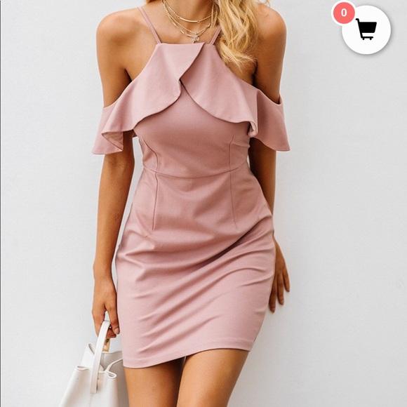 Dresses & Skirts - Light Pink Homecoming Dress